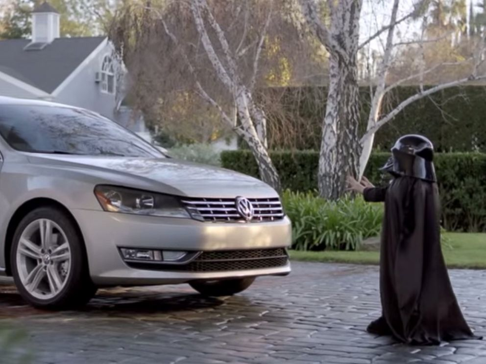 PHOTO: Volkswagens The Force Super Bowl commercial aired in 2011.