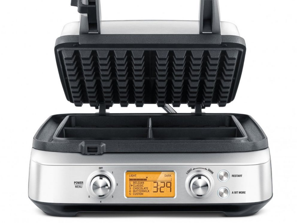 PHOTO: The Breville Smart Waffle Maker is seen in an undated handout image.