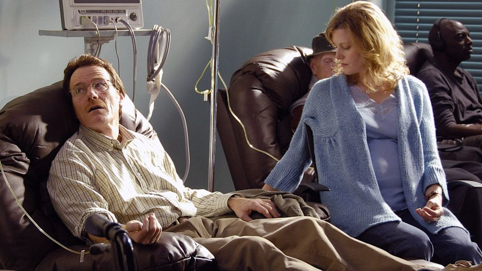 PHOTO: Bryan Cranston and Anna Gunn in Breaking Bad