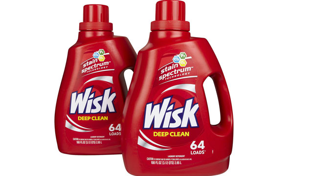PHOTO: Wisk laundry detergent has been rated as one of the best detergents, according to Consumer Reports.