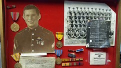 PHOTO: Medals and awards for World War II veteran and POW Marine Sgt. James Joseph McKenzie were discovered by Goodwill.