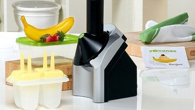 PHOTO: Yonanas frozen yogurt maker is pictured in this undated file photo.