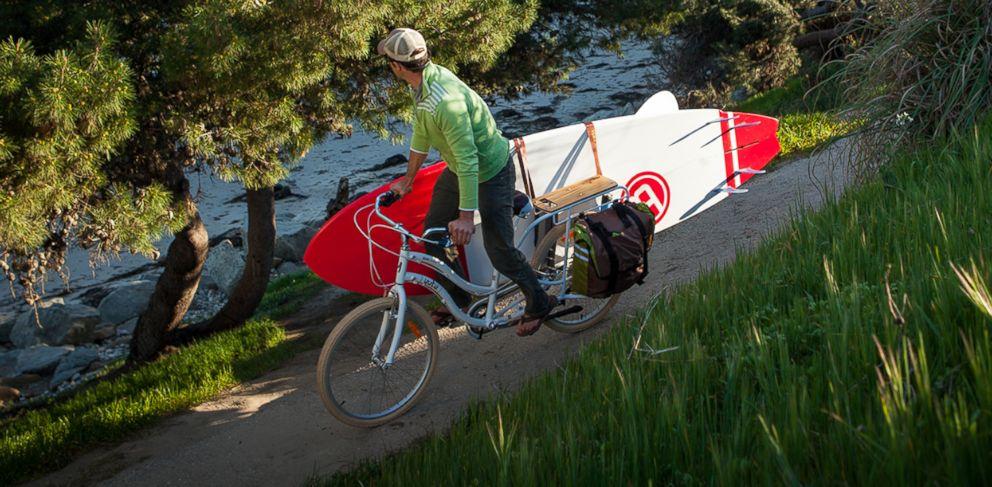 PHOTO: Yuba Bicycles Boda Boda cargo bike.