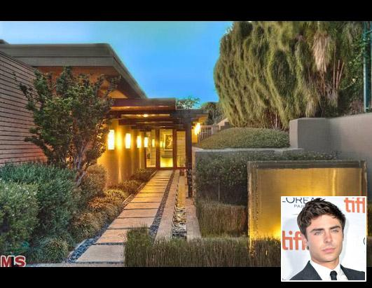 Zac Efron Buys $5M Home