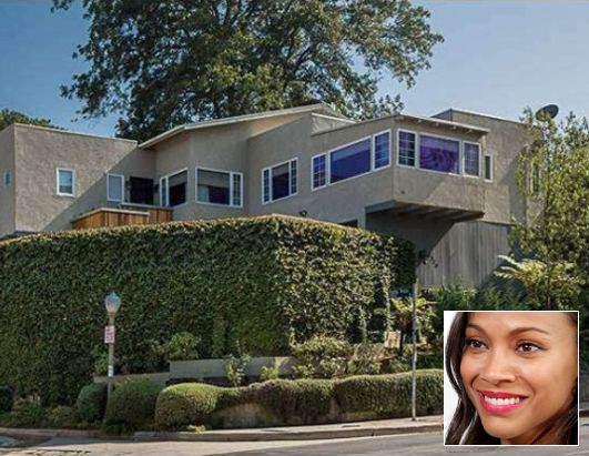 Zoe Saldana Sells L.A. Home for $1.15 Million