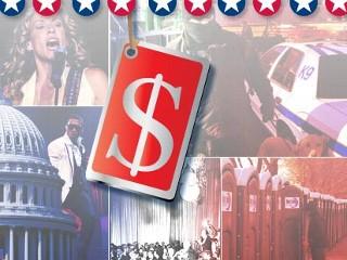 IMAGE: Inauguration price tag