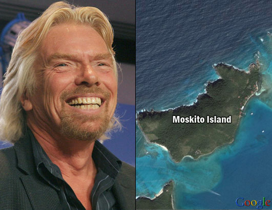 Celebs and their Islands