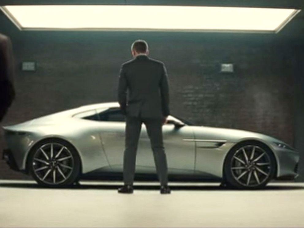 PHOTO: Daniel Craig in the James Bond movie Spectre, 2015.