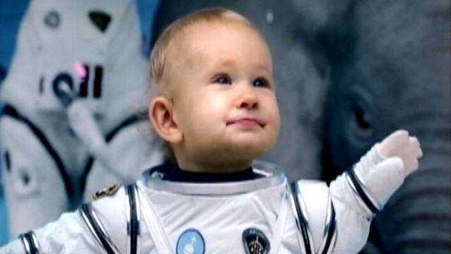 VIDEO: KIAs space baby Super Bowl commercial.