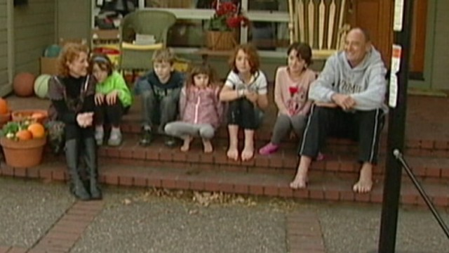 VIDEO: Dunning family from Davis, Calif., try to go one month without spending money.