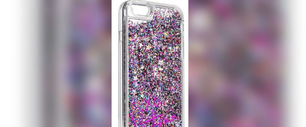 PHOTO: Liquid glitter iPhone case is seen in this undated photo.