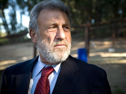 PHOTO: Men's Wearhouse CEO George Zimmer photographed at the Oakland Zoo.