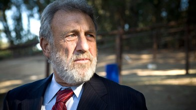 PHOTO: Men's Wearhouse founder George Zimmer photographed at the Oakland Zoo.