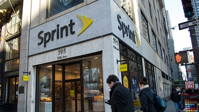 PHOTO: Sprint store