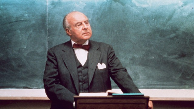 PHOTO: John Houseman in 'The Paper Chase'