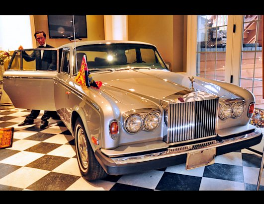 Princess Di's Rolls Royce Up for Auction
