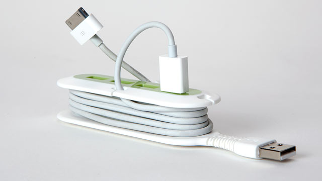 PHOTO: The Contort Flexible USB hub is shown.
