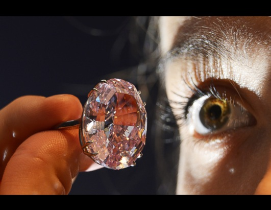 The Pink Star Diamond Sets Record for Auction at over $83 Million