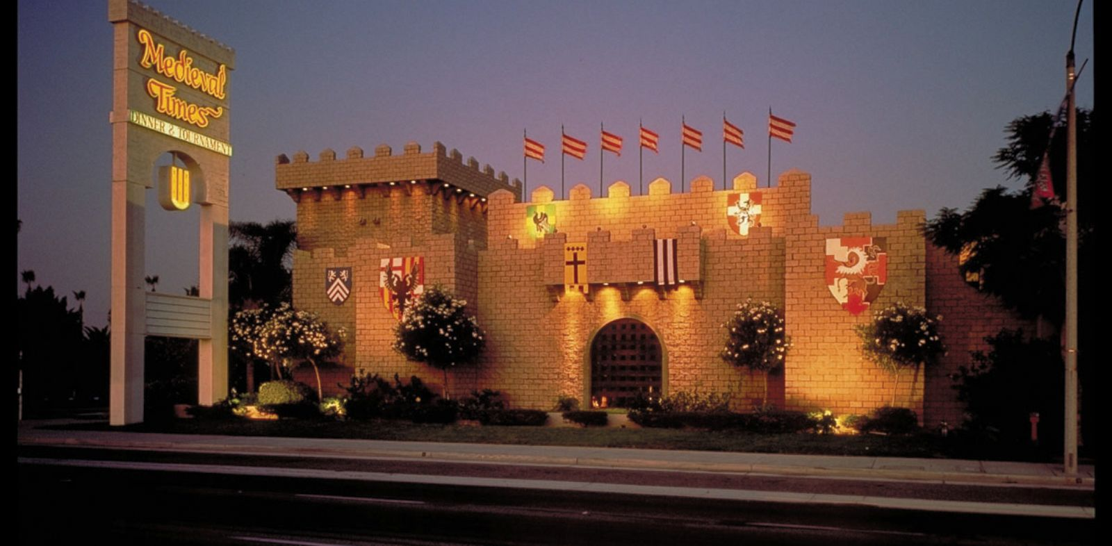 PHOTO: Medieval Times outside of Los Angeles.