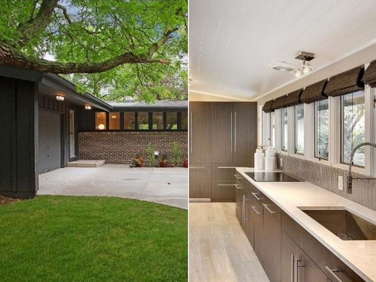 mid-century homes for sale photos