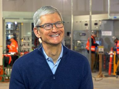 'We want to help America,' Apple CEO Tim Cook says of moving foreign money back to US