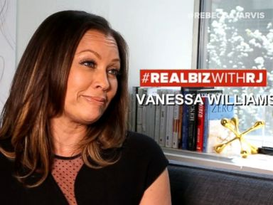 Watch:  Vanessa Williams On Real Biz with Rebecca Jarvis