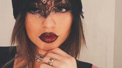 Kylie Jenner Shares a Selfie