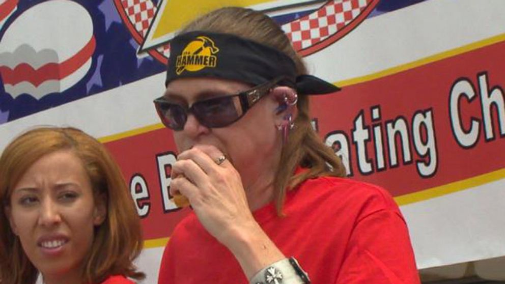 VIDEO: Molly Schuyler Crowned Burger Eating Champ