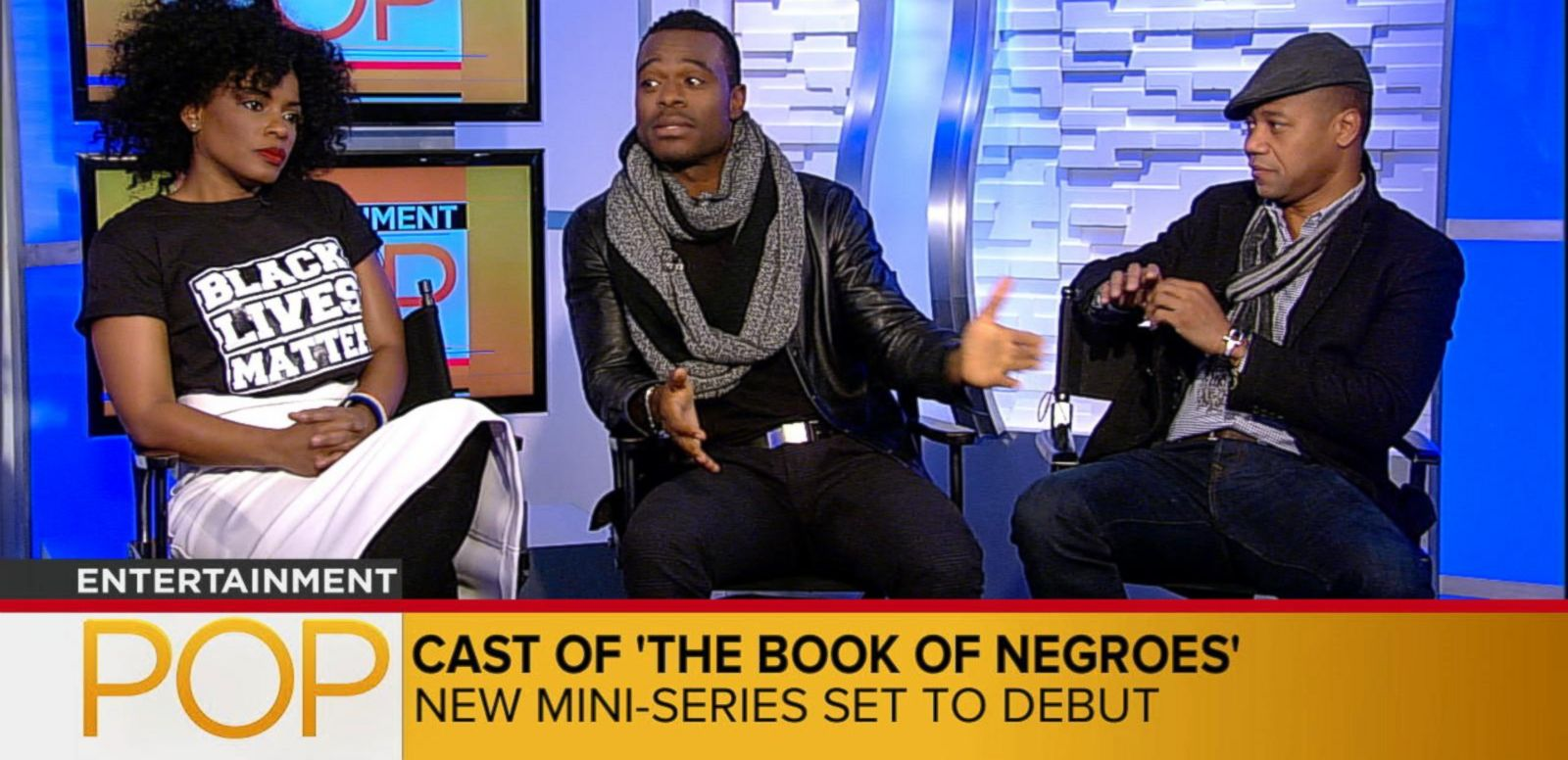 VIDEO: Cast of the Book of Negroes
