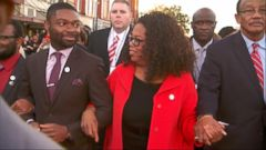 Selma Stars Help Recreate Historic 1965 MLK March