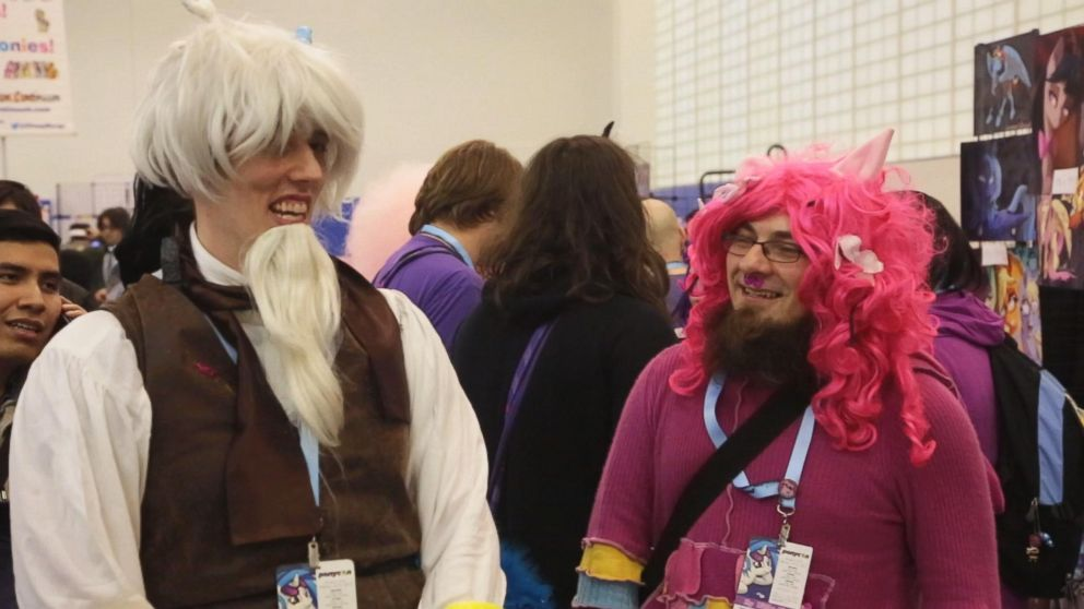 Good News Is That This Morning They >> Bronies Take Brooklyn for Ponycon 2015 - ABC News