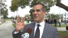 VIDEO: Eric Garcetti discusses his personal relationship with the Star Trek actor.