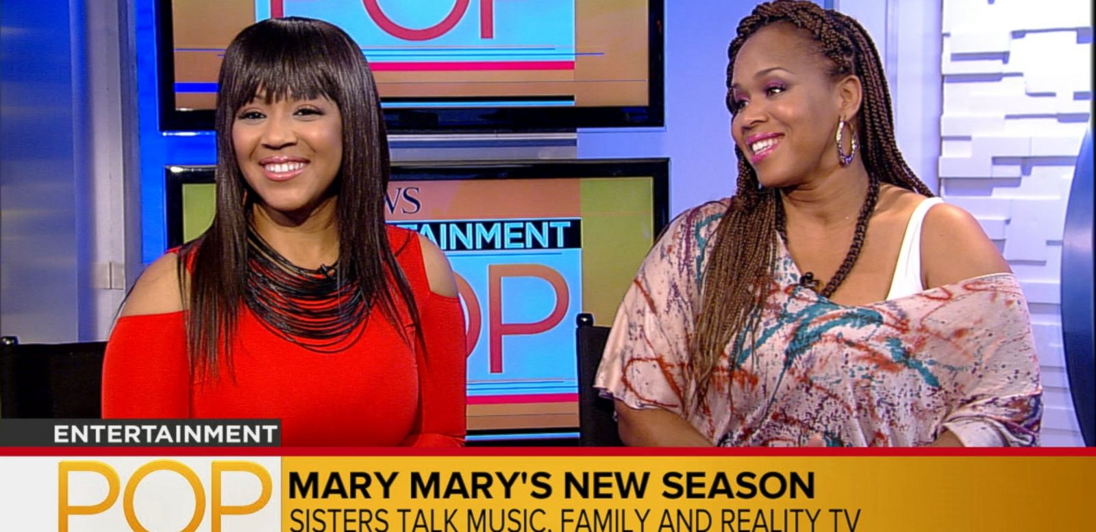 VIDEO: Singing sisters talk music, family and reality TV.