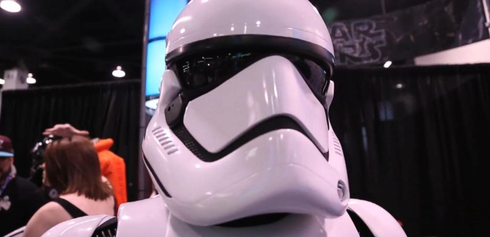 VIDEO: New Star Wars Episode VII Storm Trooper Uniform is the Main Attraction at Celebration