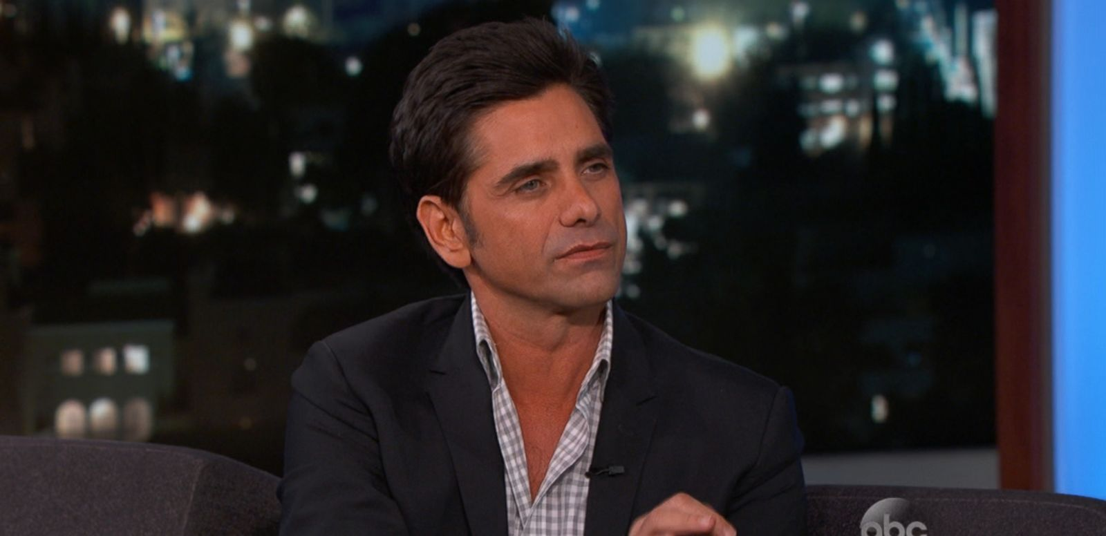 "VIDEO: John Stamos discusses ""Fuller House"" during his appearance on ""Jimmy Kimmel Live."""