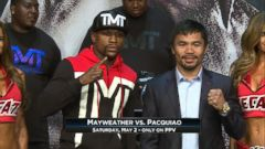 VIDEO: Drama Builds Ahead of Mayweather-Pacquiao Fight of the Century