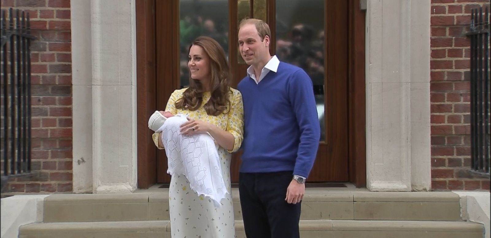 VIDEO: Prince William and Kate Middleton turned to familial names when naming their baby girl.
