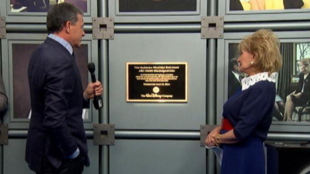 VIDEO: Barbara Walters Building Dedication Ceremony