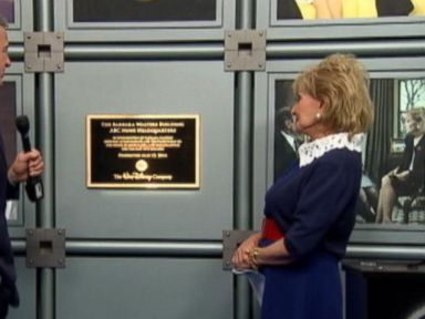 VIDEO: Barbara Walters Building Dedication Ceremony