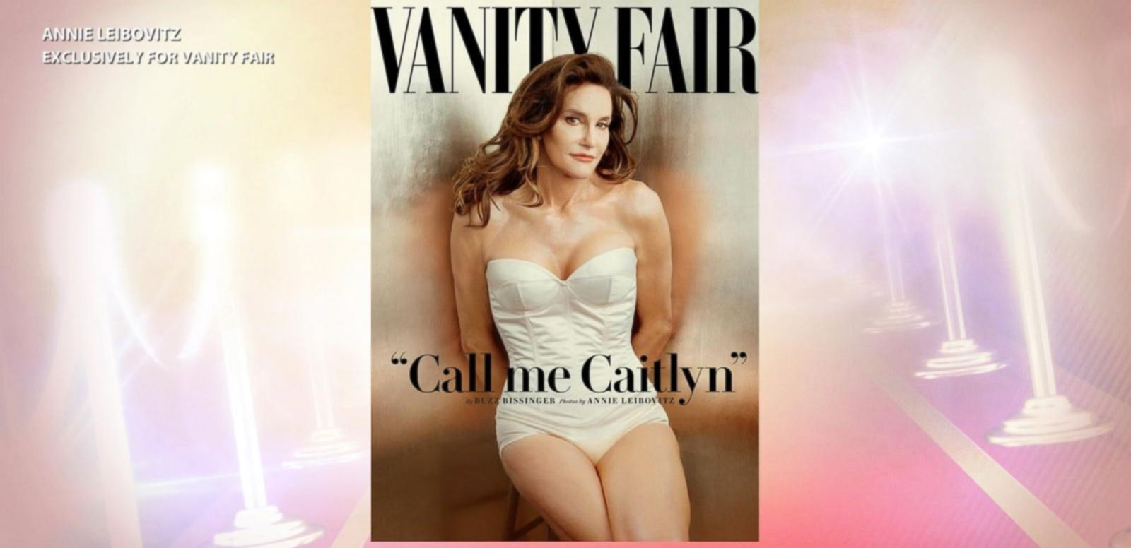 VIDEO: Caitlyn Jenner Reveals Herself in Vanity Fair Photo Shoot