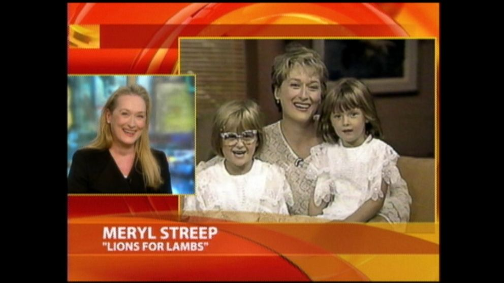 Meryl Streep Giggles Watching 1990 GMA Appearance With ...
