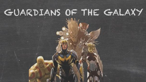 VIDEO: Unlikely Heroes Guardians of the Galaxy MARVEL 101