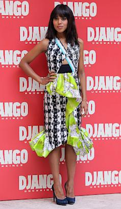 Kerry Washington shines in Peter Pilotto dress