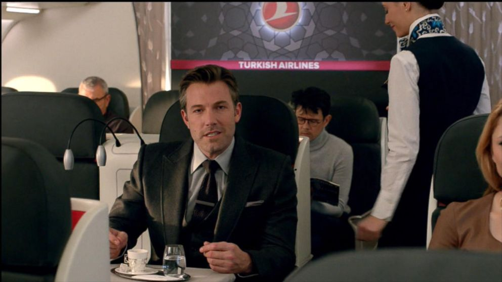 VIDEO: Ben Affleck is Bruce Wayne in a fake Turkish Airlines commercial that aired after Super Bowl 50.