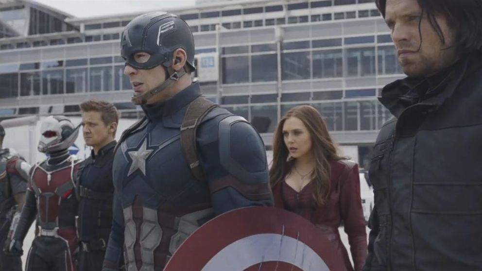 VIDEO: Captain America and his fellow Avengers stand divided in this trailer that aired during Super Bowl 50.