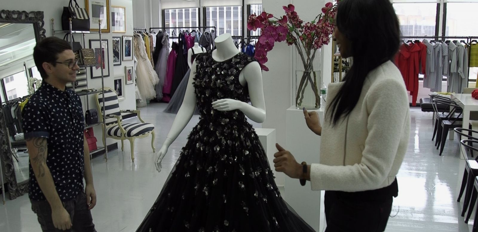 VIDEO: Designing an Oscars 2016 Dress with Christian Siriano