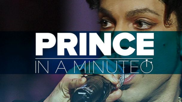 VIDEO: Prince In A Minute