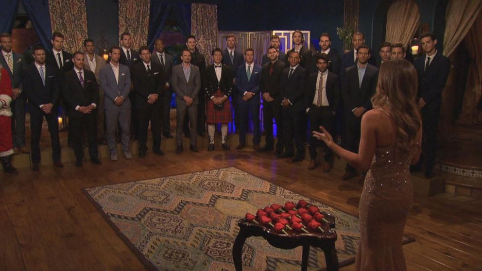 Bachelorette Sneak Peek Surprise Guest Interrupts 1st Rose Ceremony Video
