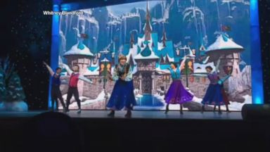 VIDEO: Sneak Peek at Shanghai Disneys Frozen Sing Along