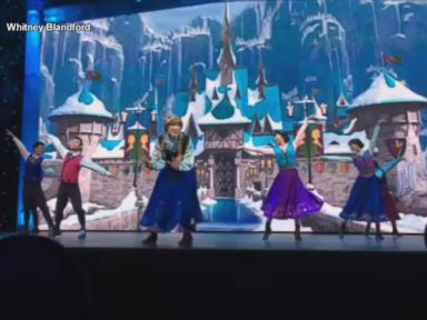 Watch:  Sneak Peek at Shanghai Disneys Frozen Sing Along